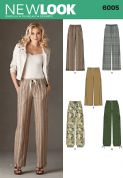 6005 New Look Pattern: Misses' Trousers